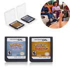 Pokemon HeartGold SoulSilver Game Card For DS 3DS NDSI NDSL NDS Lite XMAS Gifts