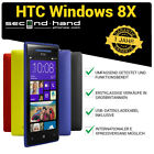 HTC Windows 8X - 16GB - (Entsperrt/SIM FREE) Smartphone 1 Jahr Garantie