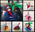 Elf on a Shelf Inflatable Pool Float - Funny Scout Elf prop - Mini Swimming Ring $6.95 USD on eBay