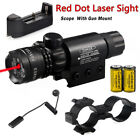 Tactical Green Red Laser Sight Rifle Dot Scope+ Switch + Rail+ Barrel Mounts USALights & Lasers - 106974