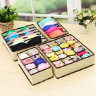 Внешний вид - Closet Organizer Box for Underwear Bra Socks Ties Scarves Storage Drawer Divider