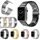 Apple Watch Series 4/3/2/1 Stainless Steel Wrist iWatch Band 38/42mm Case Cover image