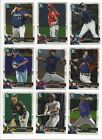 2018 BOWMAN CHROME PROSPECTS #'s 151-250 (ROOKIE RC's, 1st CARDS) - U PICK!!