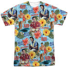 Authentic Elvis Presley Blue Hawaii Surf's Up Movie Sublimation Front T-shirt