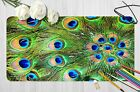 3D Peacock Feather 4 Texture Non-slip Office Desk Mouse Mat Big Keyboard Game