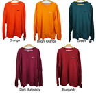 New Nike Men's Long Sleeve Tee Logo Embroidered T-Shirt 2XL, 3XL Athletic Cut image