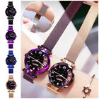 Luxury Women's Starry Sky Watch Magnetic Stainless Buckle Quartz Fashion Watch image
