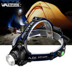 6000Lm XM-L T6 LED Headlamp Flashlight  Zoomable Camping Torch 2x18650 AC/Car CH