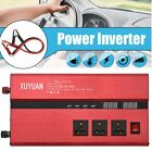 New 10000W LED Car Solar Power Inverter 12/24V to 110/220V Sine Wave Converter