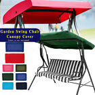 Replacement Canopy Swing Seat Garden Hammock 2&3 Seater Spare Cover Waterproof