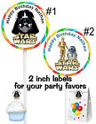 20 STAR WARS DARTH VADER  BIRTHDAY PARTY FAVORS STICKERS LABELS FOR PARTY FAVORS $4.99 USD on eBay