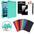 For All New Amazon Fire HD 8 7th Generation 2017 Silicone Shock Proof Case Cover