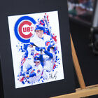 Anthony Rizzo #44 - Unique Artwork - Chicago Cubs- 3D Effect - Handmade on Ebay