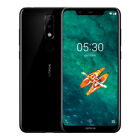 New Nokia X5 Smartphone Android 8.1 Helio P60 Octa Core 5.86 Inch 4G GPS Face ID