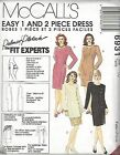 McCalls Sewing Pattern # 6931 Palmer Pletsch Dress, Tunic, and Skirt Choose Size