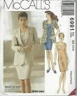 McCalls Sewing Pattern # 6991 Misses Unlined Jacket and Dress Choose Size