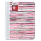 "Mead Composition Book Wide Ruled 70 Sheets/140 Pgs 9.75"" x 7.5"" Fashion Design"
