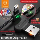 Mcdodo Fast Charging Lightning Charger L Shape Reversible Usb Unbreakable Cable