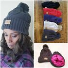Kyпить Perfectly Zen SATIN LINED Knit Beanie Winter Ski Hat Cap на еВаy.соm