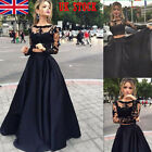 Women's Lace Formal Wedding Evening Ball Gown Party Bridesmaid Cocktail Dress