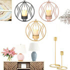 Metal Candlestick Candle Holder Accessories Wall Decor Home Party Supply