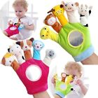Newborn Baby Animal Finger Puppets Hand Plush Kids Toys Hand Toy Gloves Doll Toy