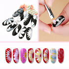 Nail Art Gradient Design Acrylic Brush Painting Flower UV Gel Pen Manicure Tools