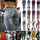 Women Printed Sports Yoga Pants Appropriateness Gym Leggings Running Gym Workout Trouser