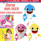 Sing Song Baby Shark PinkFong toy Pulsh Doll Soft Toys sharks kids baby