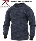 Midnight Digital Camouflage Long Sleeve T-Shirt Military Shirts Rothco 68947