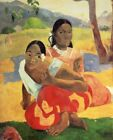 FINE-ART-PRINT-Gauguin--Paul-When-Will-You-Marry-Poster-Paper-or-Canvas-for-home