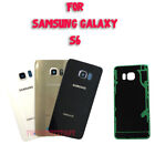 OEM Battery Cover Glass Housing Rear Back Door Lens For Samsung Galaxy S6 G920