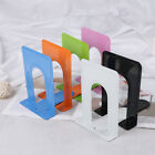 Colourful Heavy Duty Metal Bookends Book Ends Office Stationery _7