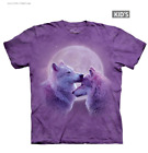 Purple Wolf T-Shirt / purple Tie Dye,Loving Wolves,Cool Kids t-shirt
