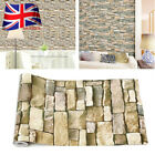 Pvc Stone Brick Wall Stickers Decal Self Adhesive Wallpaper Living Room Decor Uk