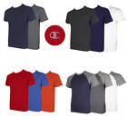 Champion Men's Short Raglan Sleeve Crew Neck Athletic T-Shirt image