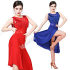 Внешний вид - Women Latin Dance Costume Dress Jazz Ballroom Salsa Fringe Competition Practice