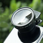 Clip-on Lens Cell Phone Lens Wide Macro fisheye Camera Telescope For Phone