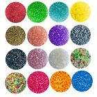 500x Acrylic 4mm Spacer Beads For Jewellery Making - 19 Colours To Choose