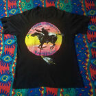 Rare NEIL YOUNG CRAZY HORSE Ragged Glory 1991 tour T-shirt Reprint New image