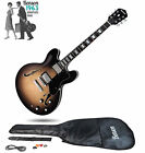 BRAND NEW BENSON ELECTRO HOLLOW BODY SEMI ACOUSTIC  ELECTRIC GUITAR PACKAGE