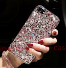 For Samsung S10 Plus Glitter Diamond Bling Cover Cute Crystal Clear Hard PC Case