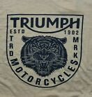 NWT Lucky Brand Triumph Short Sleeve Gold Graphic T-Shirt   Select Size   L2207 $20.71 USD on eBay