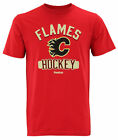 Reebok NHL Men's Calgary Flames Miracle Short Sleeve Go-To Tee, Red $11.01 USD on eBay