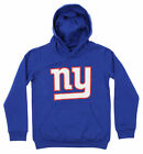 OuterStuff NFL Youth New York Giants Primary Logo Team Fleece Hoodie, Blue $34.99 USD on eBay