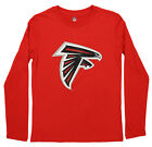 Outerstuff NFL Youth Atlanta Falcons Primary Logo Long Sleeve Tee $14.99 USD on eBay