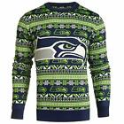 Forever Collectibles NFL Men's Seattle Seahawks Aztec Print Ugly Sweater $34.99 USD on eBay