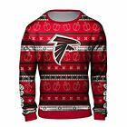 Forever Collectibles NFL Men's Atlanta Falcons Hanukkah Printed Ugly Crew Neck s $44.99 USD on eBay