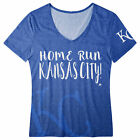 FOCO MLB Women's Kansas City Royals Home Run V-Neck Tee on Ebay