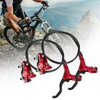 ZOOM MTB Mountain Road Bike Hydraulic Disc Brakes levers Calipers Front Rear Set